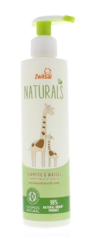 Naturals shampoo & wasgel