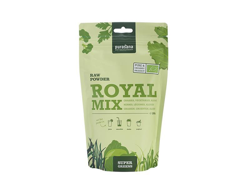 Royal mix gras groenten algen poeder bio