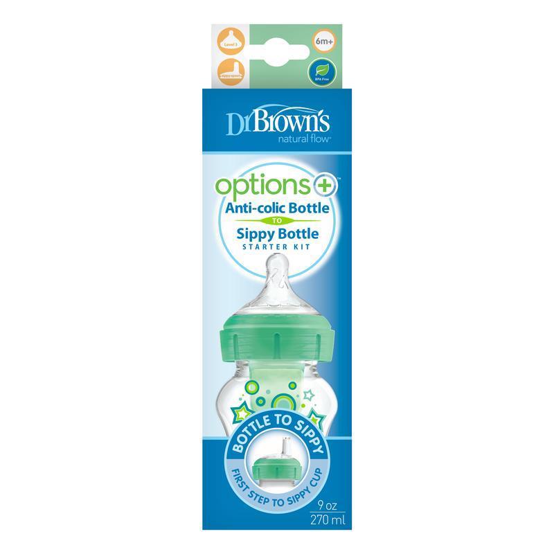 Options+ bottle to sip startkit br hals 270 groen