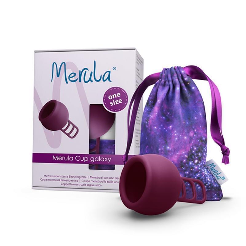 Menstruatiecup galaxy paars