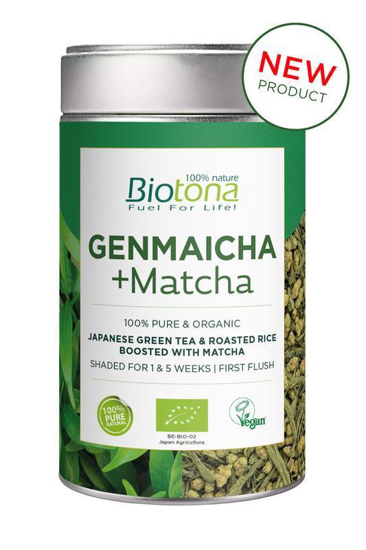 Genmaicha & matcha