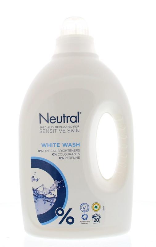 Wasmiddel vloeibaar hoofdwas wit