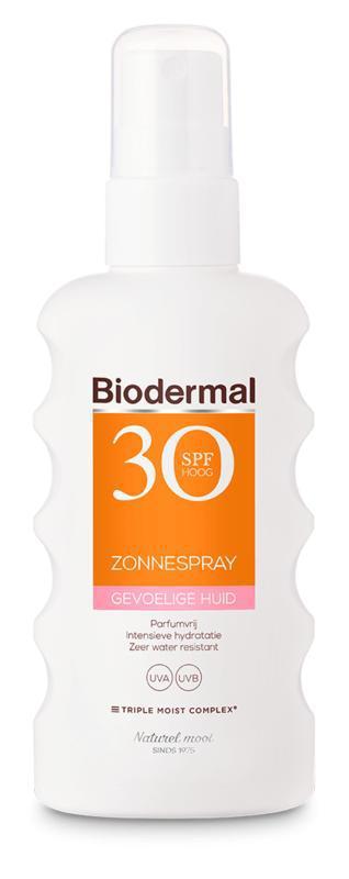 Zonnespray SP30 gevoelig huid