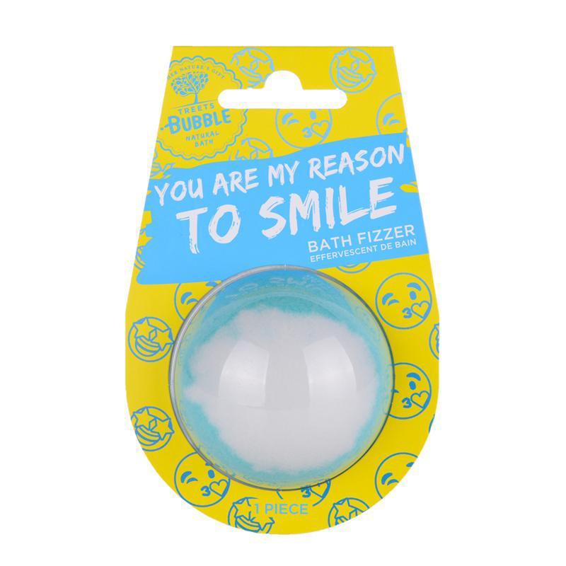 Halve bruisbal reason to smile
