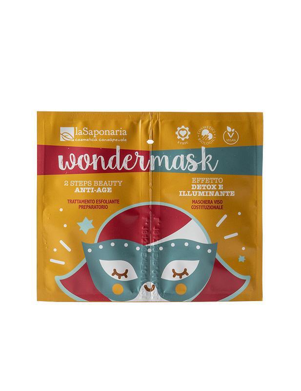 Gezichtsmasker wondermasker 8 ml + 5 ml 2 staps