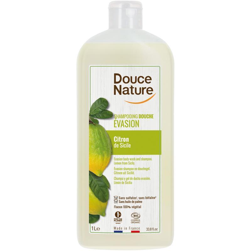 Douchegel & shampoo evasion citroen Silicie