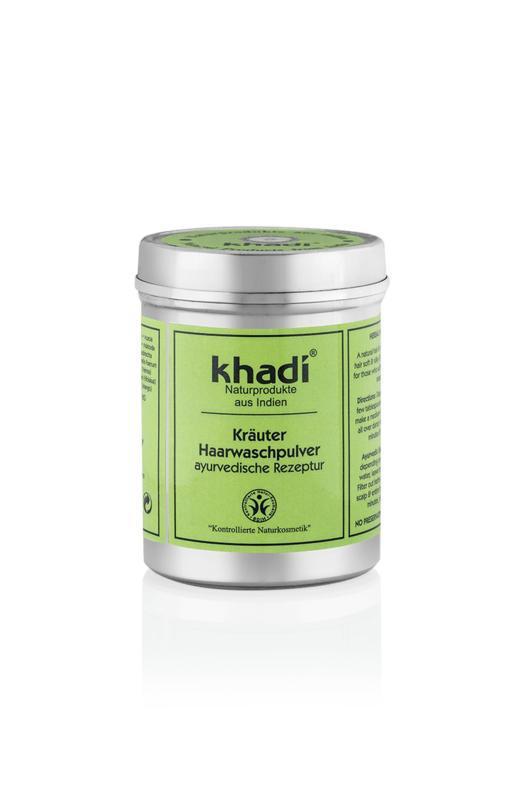 Powder herbal hairwash