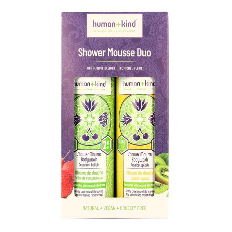 Showermousse duo vegan 2 x 200 ml
