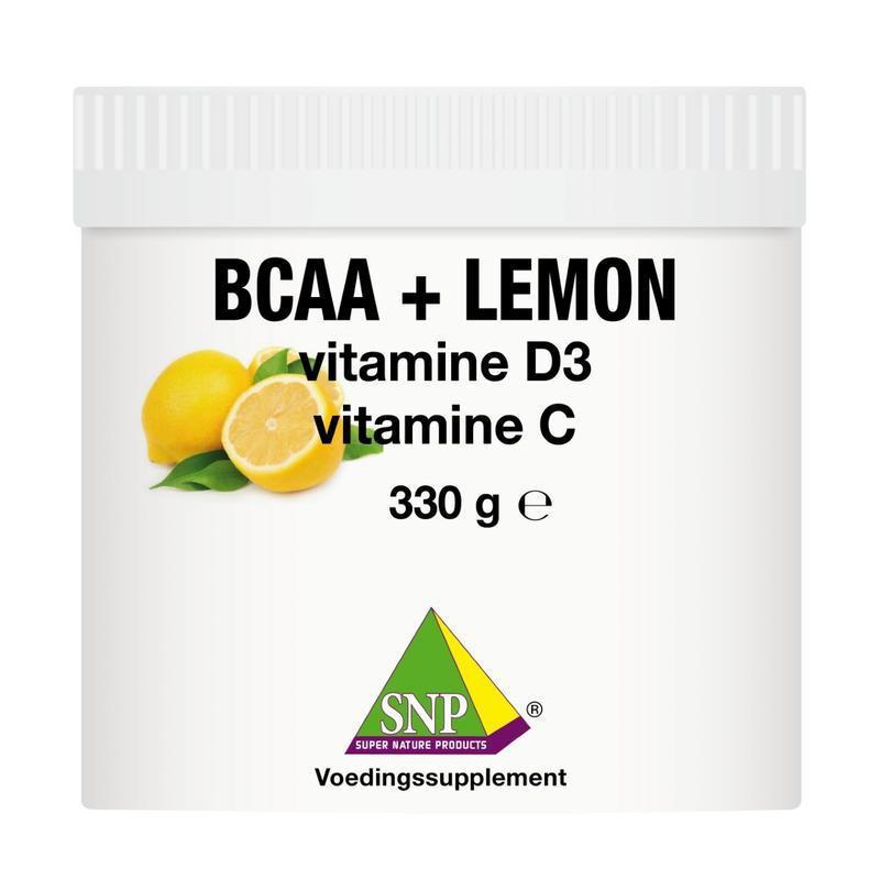 BCAA lemon Vit D3 Vit C