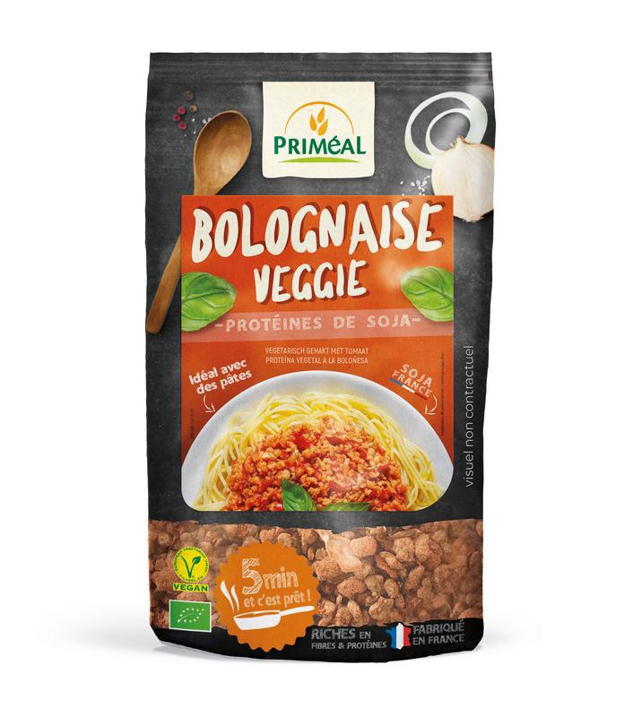 Bolognaise veggie soy