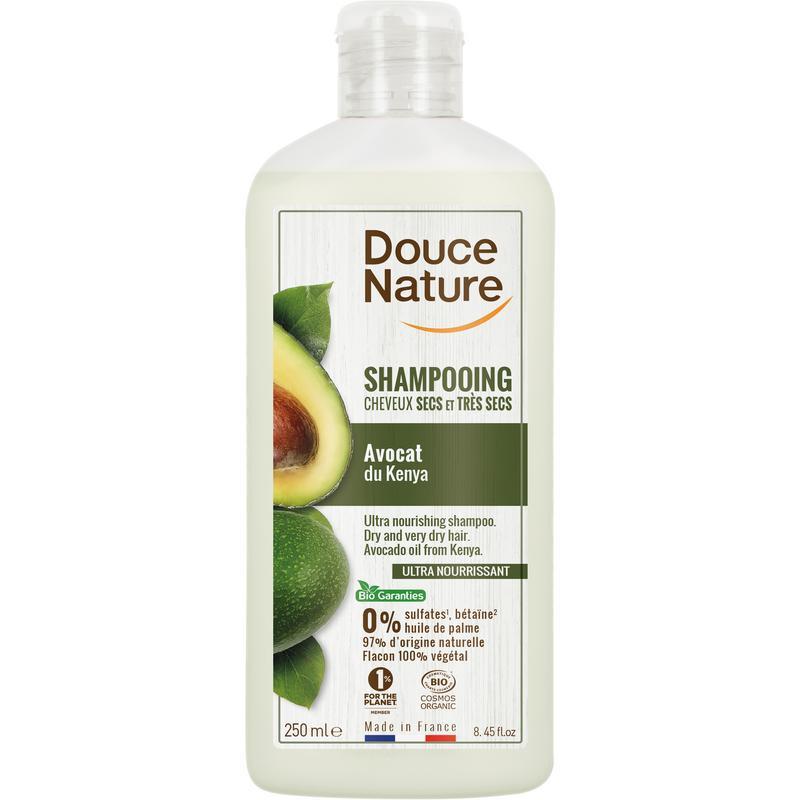 Shampoo droog haar avocado olie