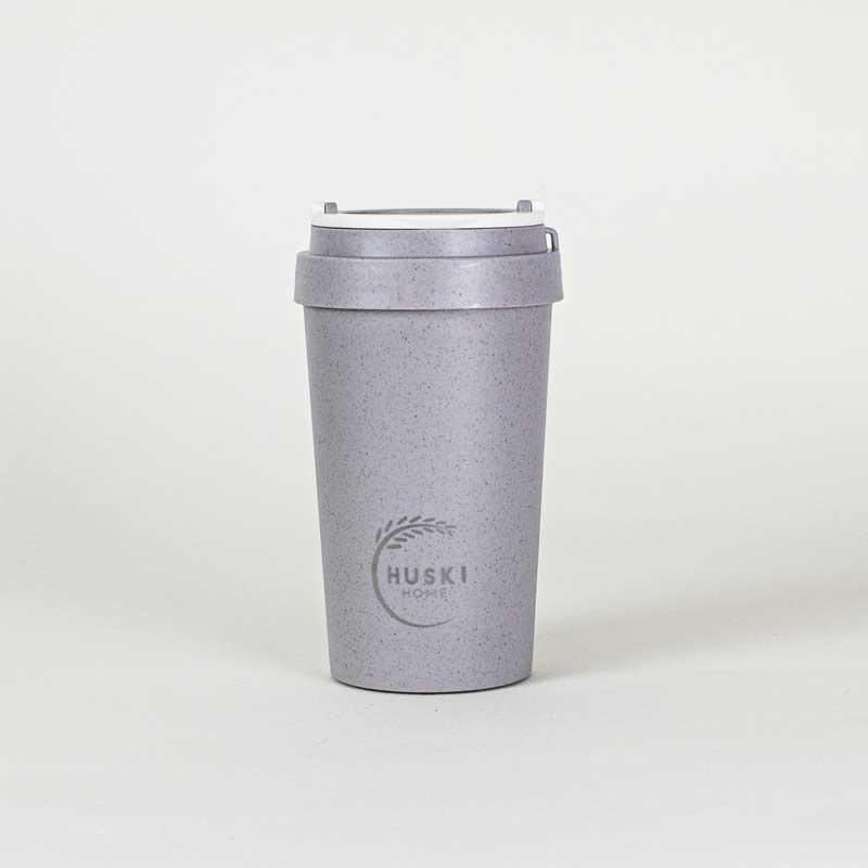 Rice husk cup slate 400 ml