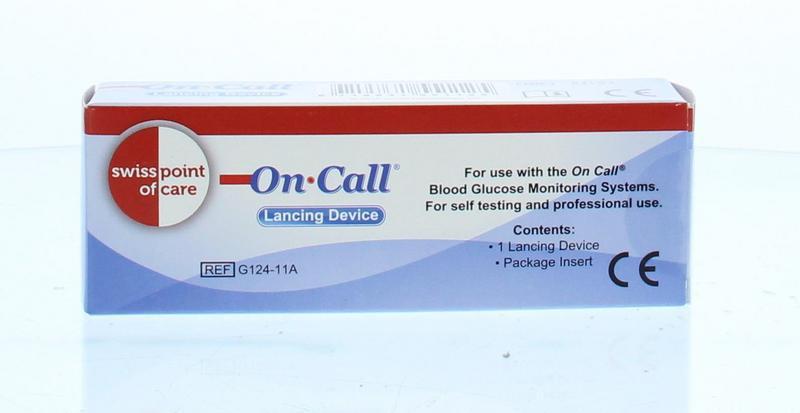 GK Dual glucose prikpen