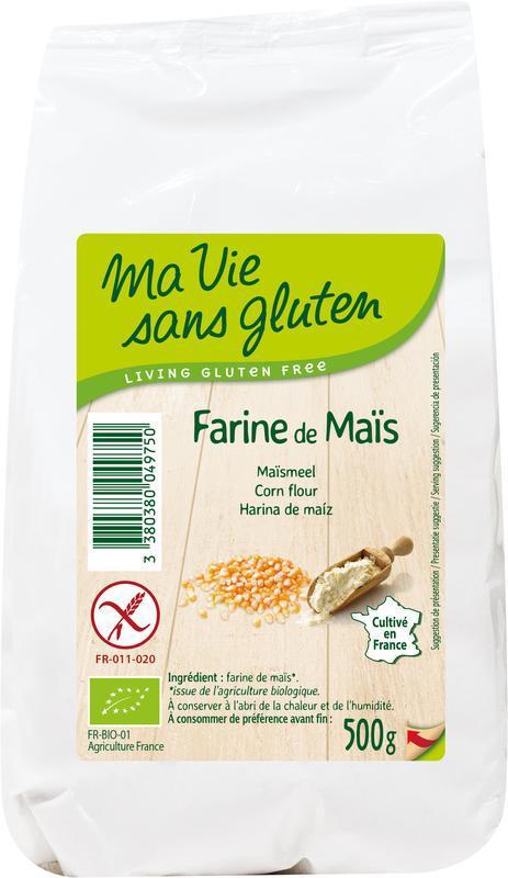 Maismeel - glutenvrij - bio