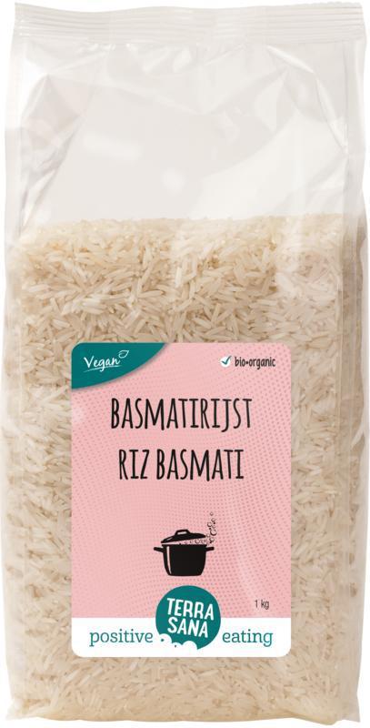 Basmati rijst wit