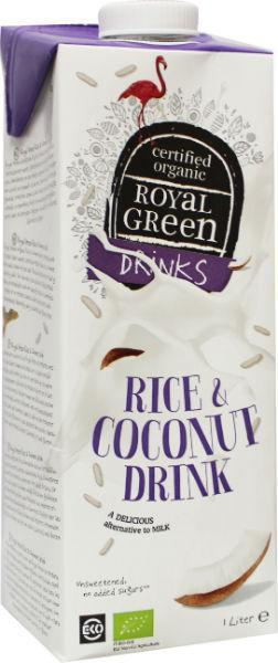Rice & coconut drink
