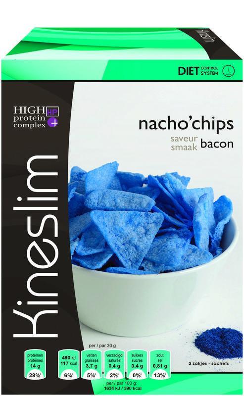 Nacho chips bacon