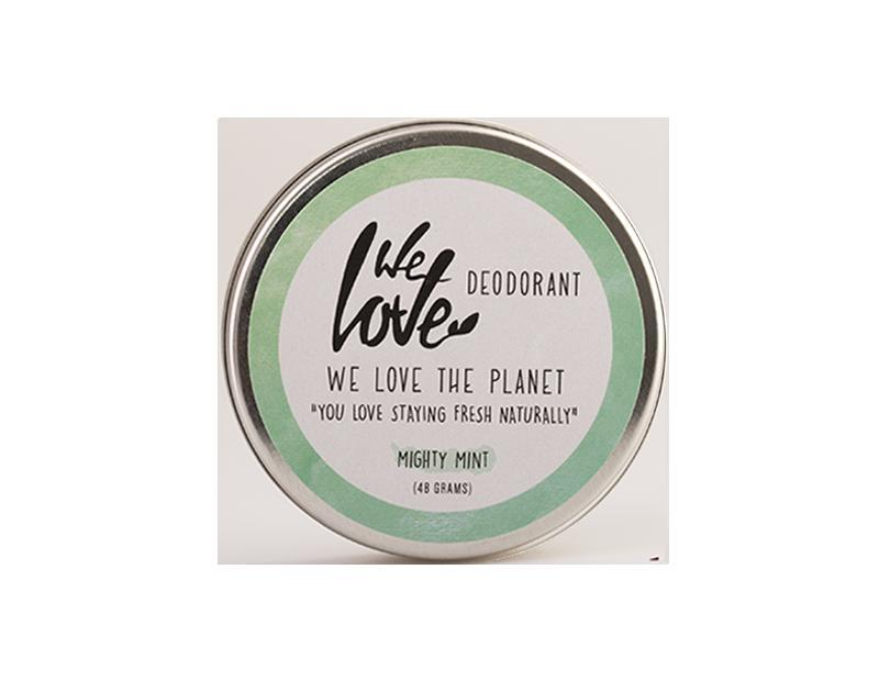 The planet 100% natural deodorant mighty mint