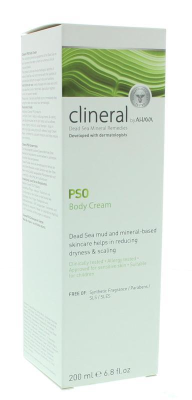 Clineral PSO body cream