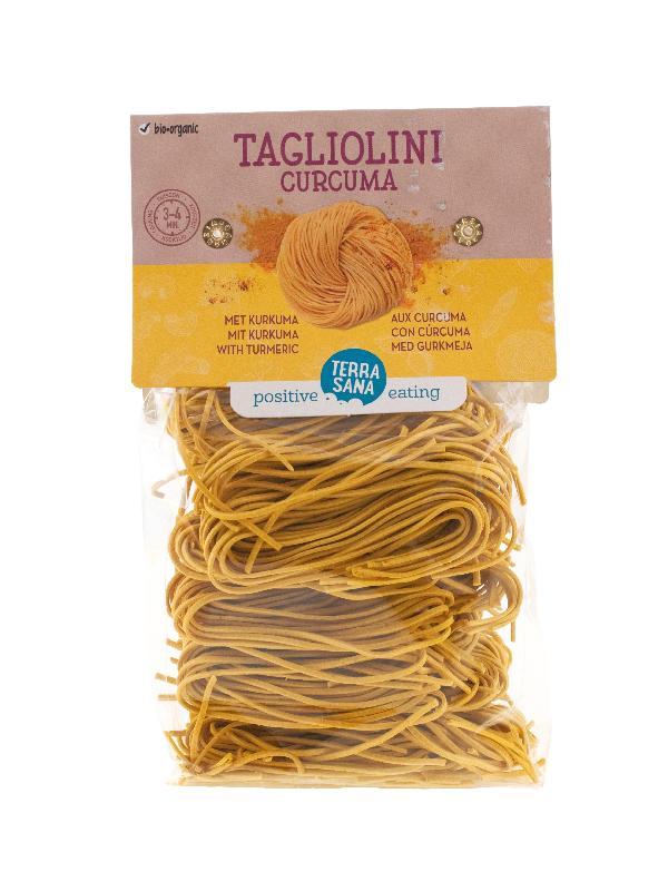 Tagliolini curcuma tarwe met curcuma