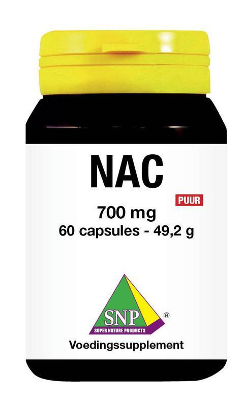 N-acetyl L-cysteine 650 mg puur
