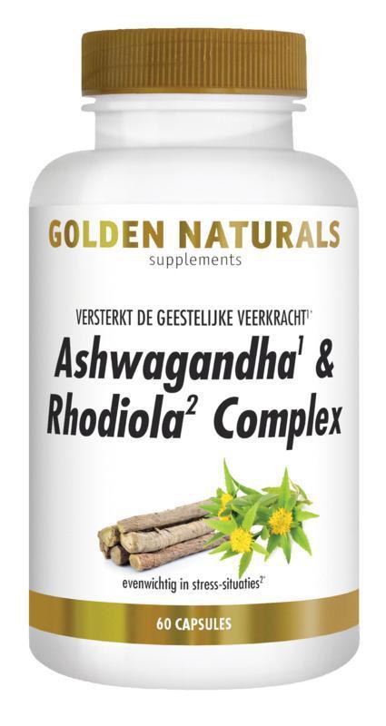Ashwagandha & rhodiola complex