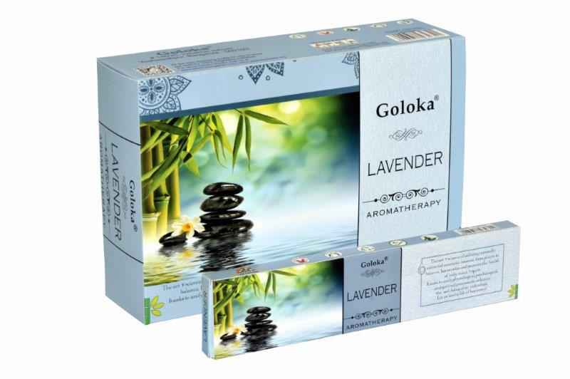 Wierook goloka aromatherapy lavender