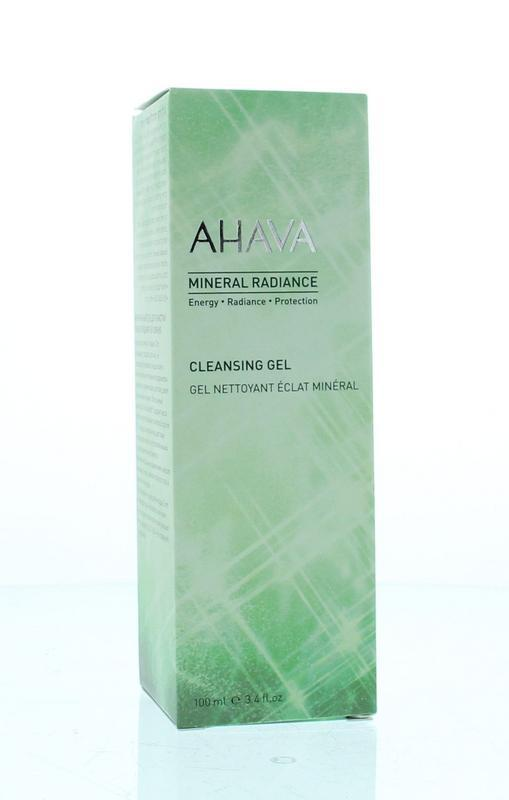 Mineral radiance cleansing gel