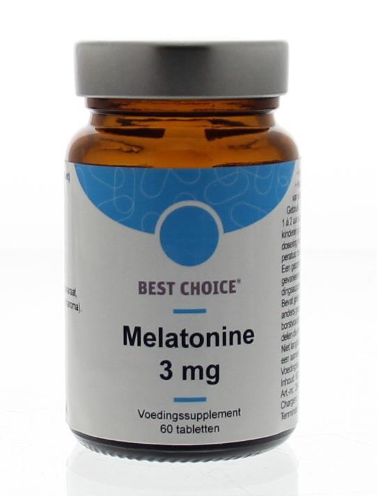 melatonine 3 mg 60 st