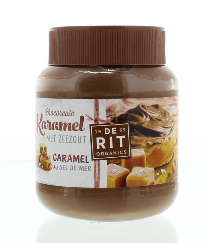 chocopasta karamel-zeezout 350 gram