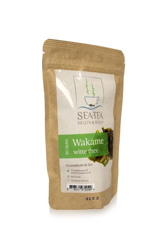 Wakame met witte thee