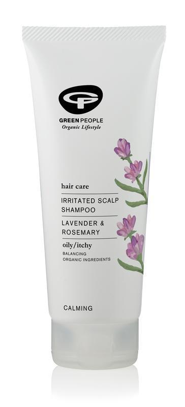 Shampoo irritated scalp