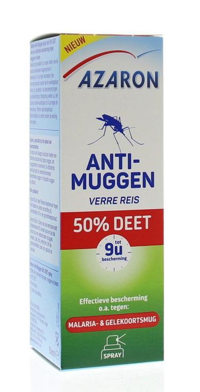 Anti muggen 50% deet spray
