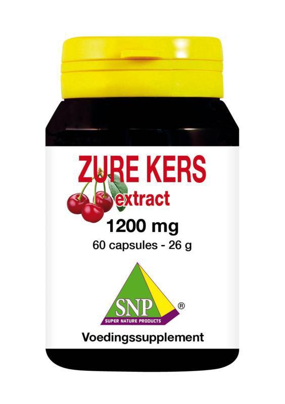 Zure kers extract 1200 mg