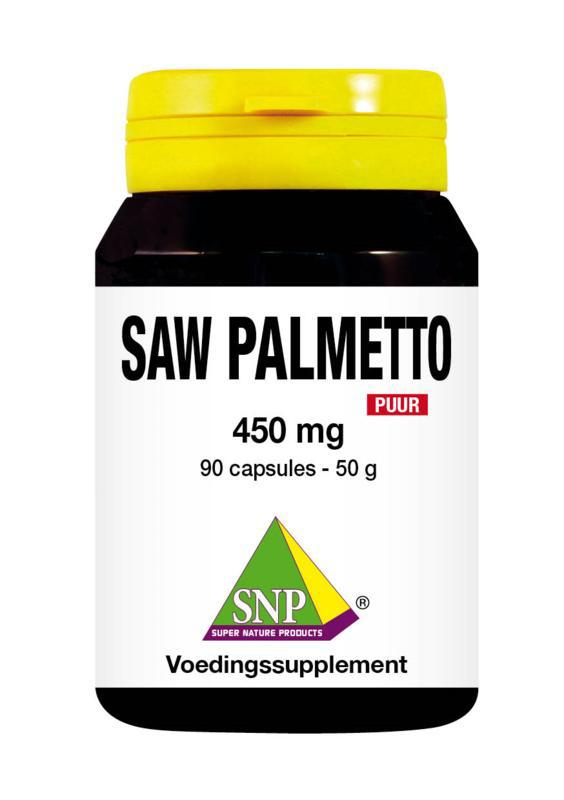 Saw palmetto 450mg puur