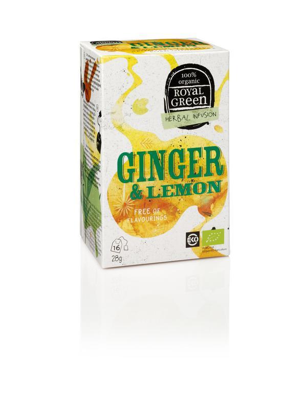 Ginger & lemon bio