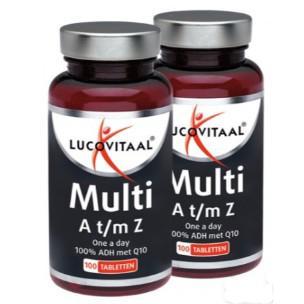 Multi a-z 1+1 gratis 100g