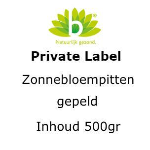 Zonnebloempitten gepeld 500g 500 gram