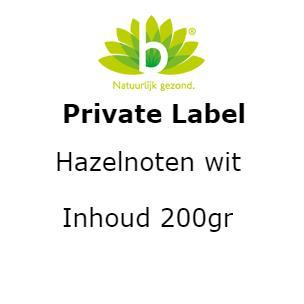 Hazelnoten wit 200g 200 gram
