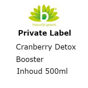 Cranberry detox booster 500m 500 ml