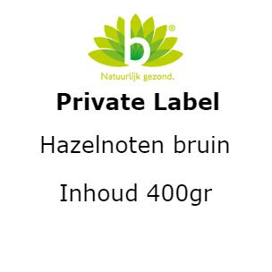 Hazelnoten bruin 400 gr 400 gram