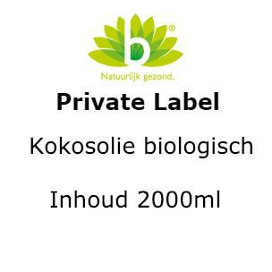 Kokosolie biologisch 2000m 2000ml