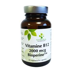 Vitamine b12 2000mcg bioperine 90 vcaps