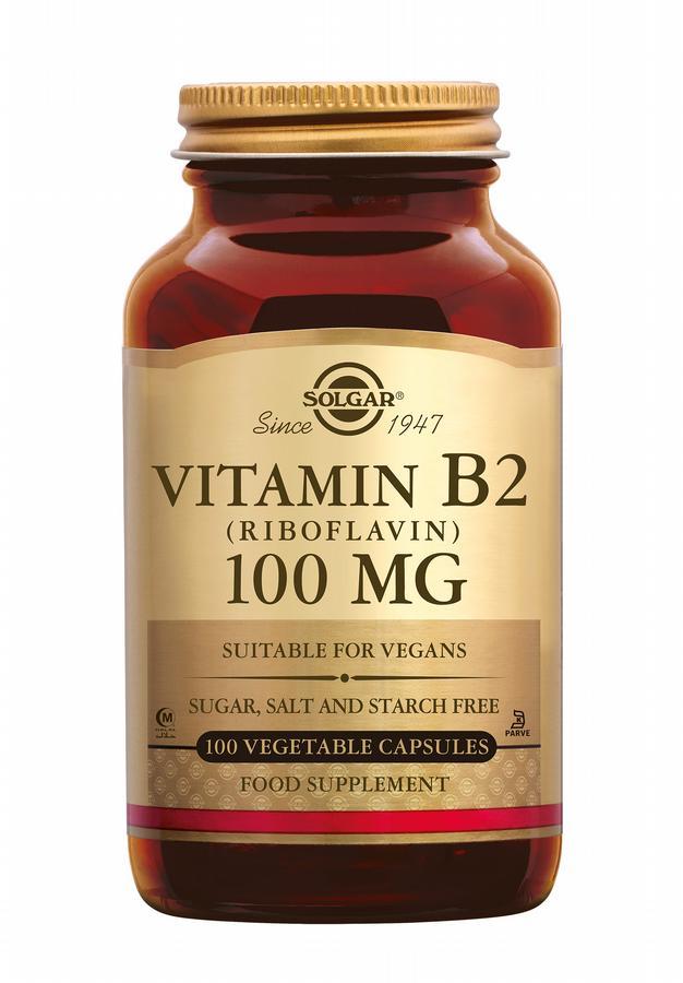 Vitamin B-2 100 mg