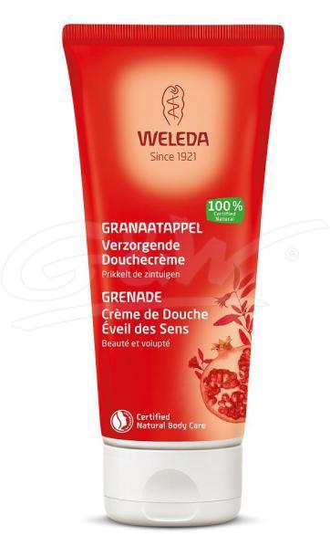 Granaatappel verzorgende douche