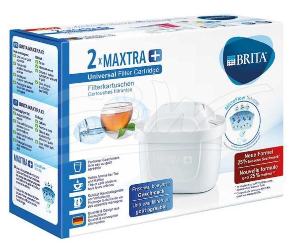 Waterfilterpatroon maxtra+ 2-pack