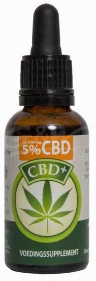 CBD plus olie 5%