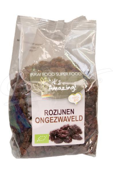 Its amazing rozijnen bio 500 gram