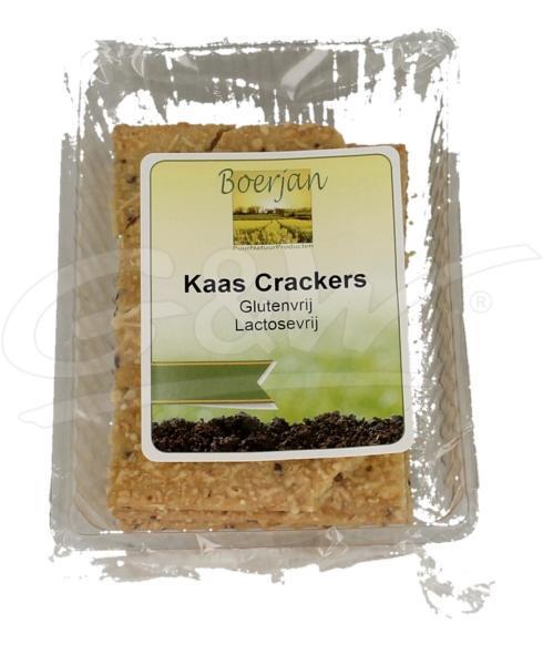 Kaas crackers gluten- en lactosevrij 6 st