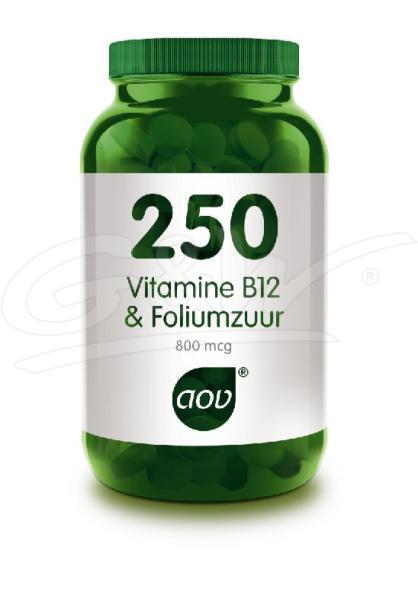 250 Vitamine B12 & foliumzuur